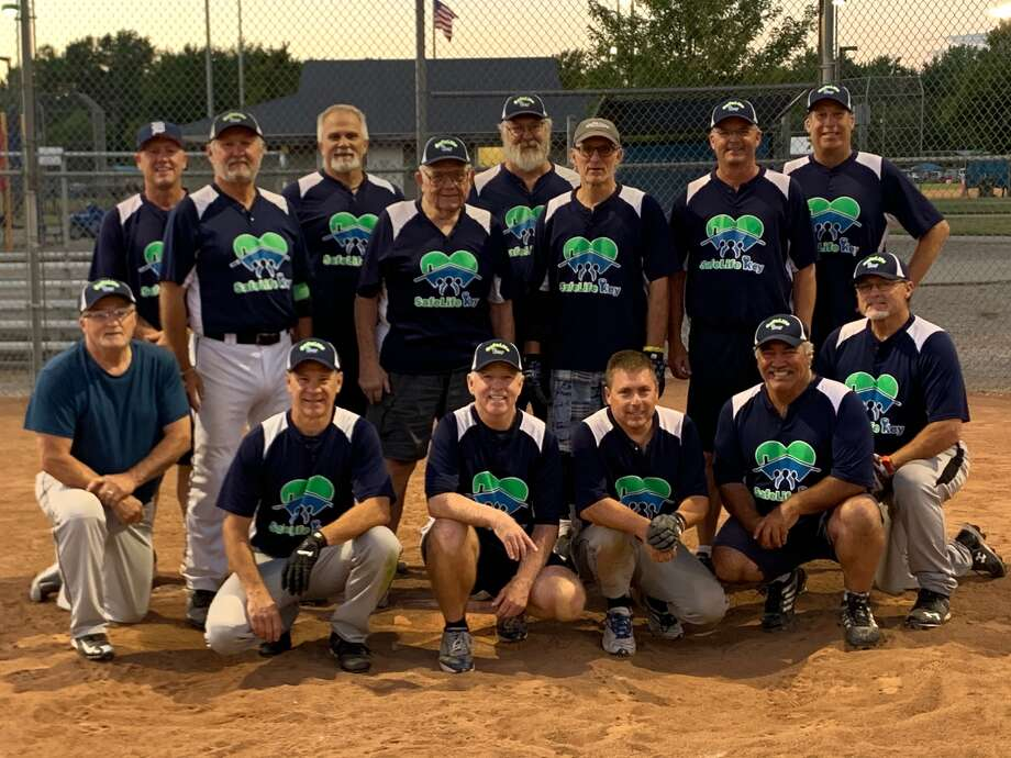 Pictured are members of SafeLife Key, which won the MSA Grand Masters Silver (50-and-over) league championship this summer. Photo: Photo Provided