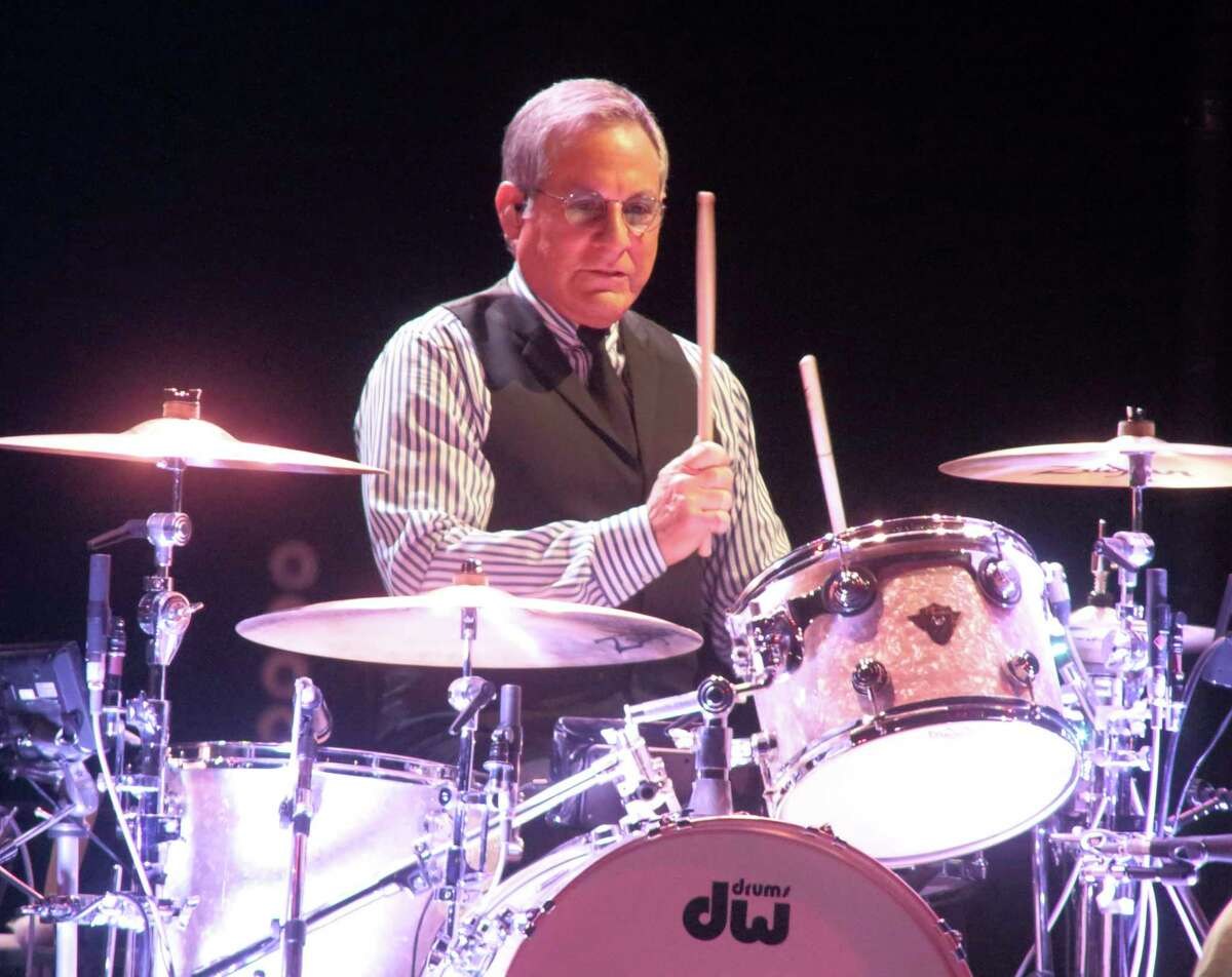 FILE - Max Weinberg performs with Bruce Springsteen and the E Street Band during their