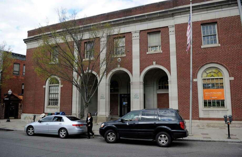 The Danbury Post Office, 1559 Main Street, Danbury, Conn. Friday, May 2, 2014. Photo: Carol Kaliff / Carol Kaliff / The News-Times