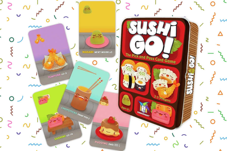 Sushi Go! - The Pick and Pass Card Game at Amazon Photo: Sushi Go!