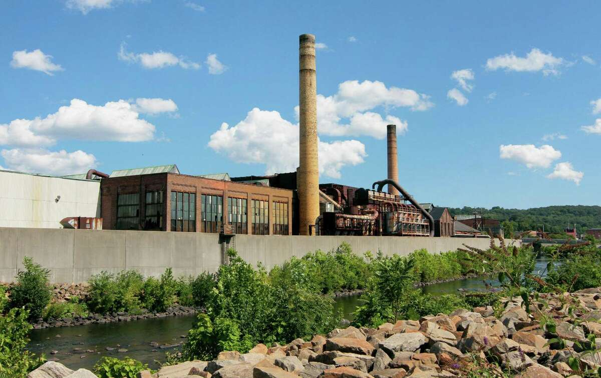 The former Ansonia Copper and Brass factory complex in Ansonia