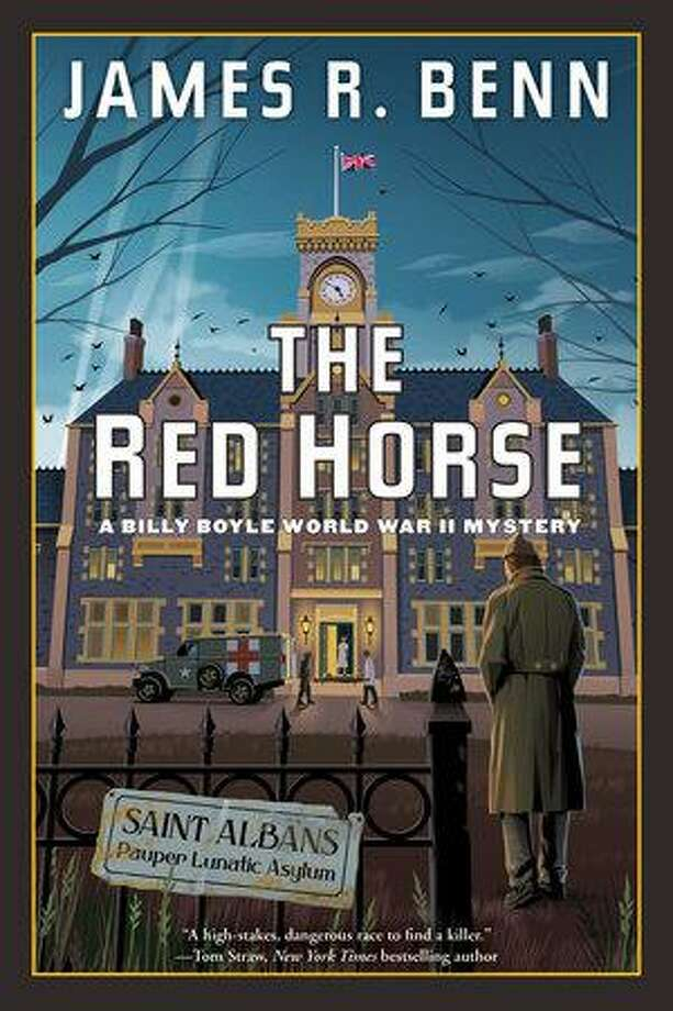 A free, illustrated author talk via zoom with James R. Benn, interesting WWII history involved in The Red Horse, the 15th Billy Boyle Mystery at 7 p.m. Sept. 3 Advance registration is required. 860-767-1560 or www.youressexlibrary.org Photo: Essex Library / Contributed Photo