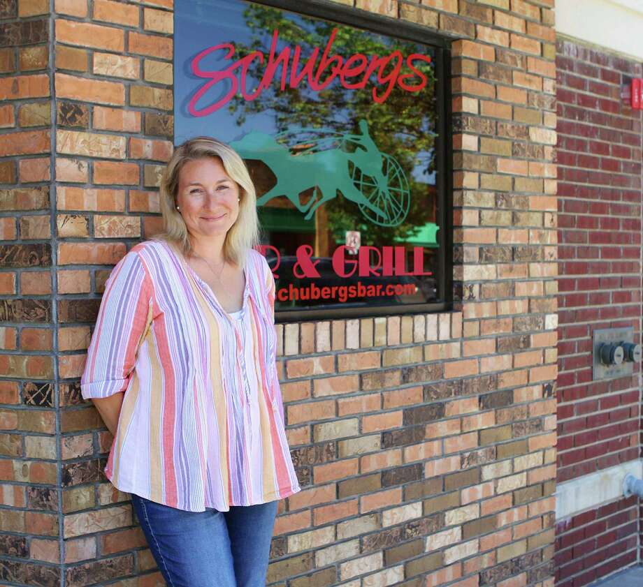 Jenn Rumsey, owner of Schuberg's Bar and Grill, said she loves being part of a business that has become such a beloved and integral part of the Big Rapids area community. (Pioneer photo/Taylor Fussman)