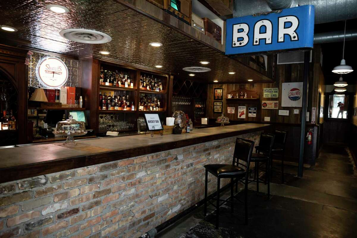 A new whiskey bar was added to Dosey Doe BBQ restaurant, Thursday, Aug. 20, 2020, in The Woodlands.The new bar will feature over 150 whiskies from around the world and will open Sept. 1.
