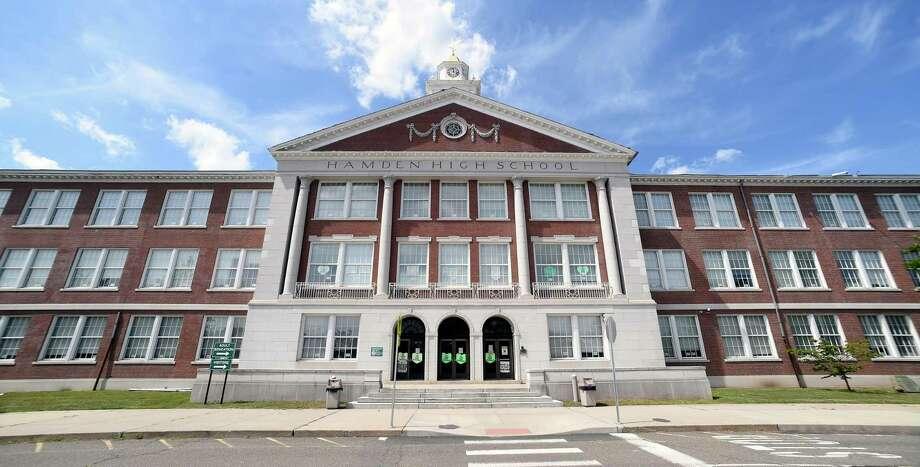 Hamden High School Photo: Arnold Gold / Hearst Connecticut Media / New Haven Register