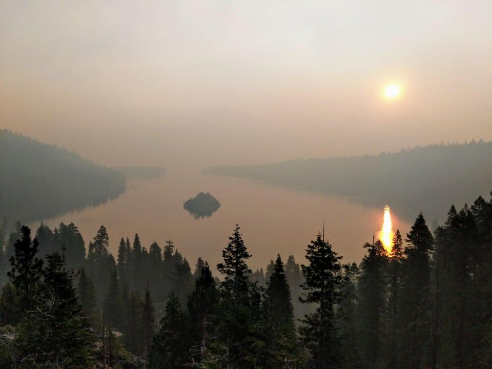 Smoke from California wildfires chokes Tahoe Basin