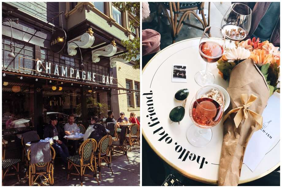 Champagne bar, The Riddler, has permanently closed in San Francisco. Photo: From (l) To (r): Sydney G. And Brittney B. On Yelp