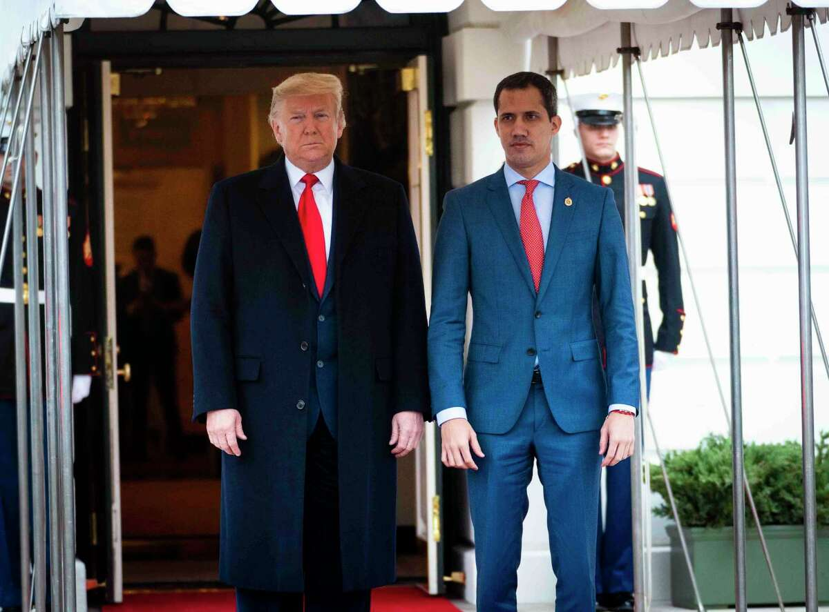 President Donald Trump welcomed Juan Guaidó, the democratically elected president of Venezuela, earlier this year. But America First policies generally undercut democracy building in Latin America.