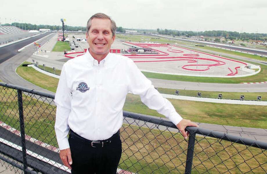 World Wide Technology Raceway owner and CEO Curtis Francois at the Madison track. The racetrack is prepping for a big weekend Aug. 29-30, which will includes an unprecedented two IndyCar races. Photo: Scott Cousins File | The Telegraph