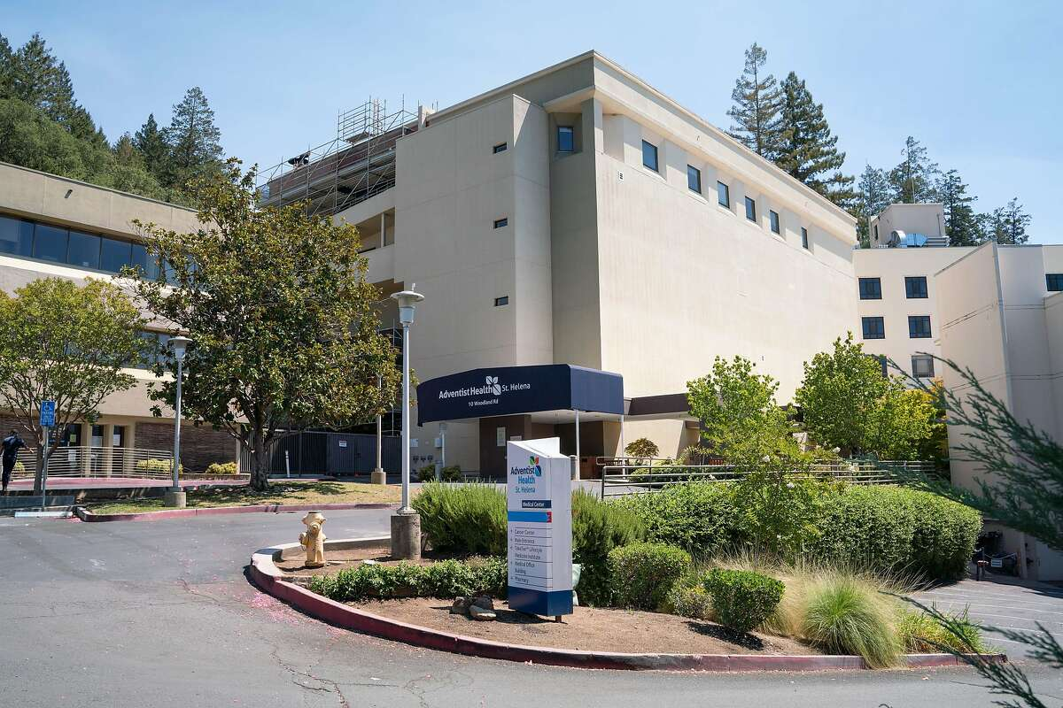 Saint Helena Medical Center is closed due to fire evacuations in St. Helena, Calif. on Friday, Aug. 21, 2020.