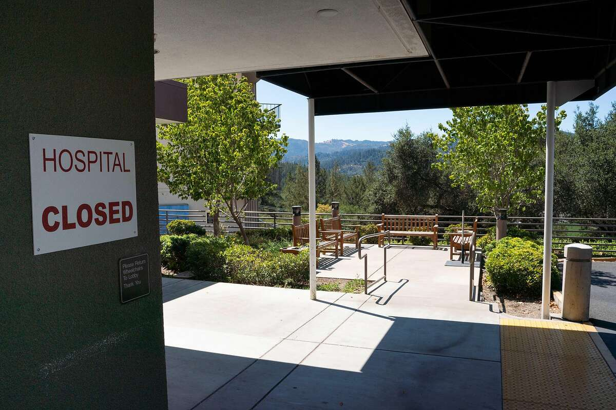 St. Helena Medical Center is closed due to Glass Fire evacuations in St. Helena.