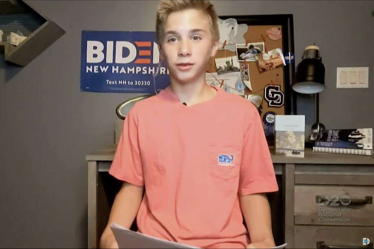 Brayden Harrington's virtual address at the Democratic National Convention filled the hearts of Americans.