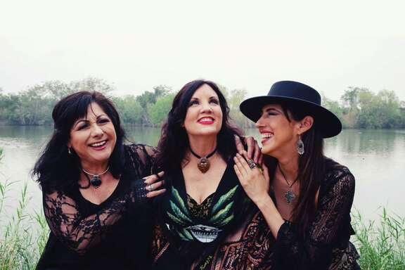 The Texicana Mamas are, from left, Tish Hinojosa, Stephanie Urbina Jones and Patricia Vonne.