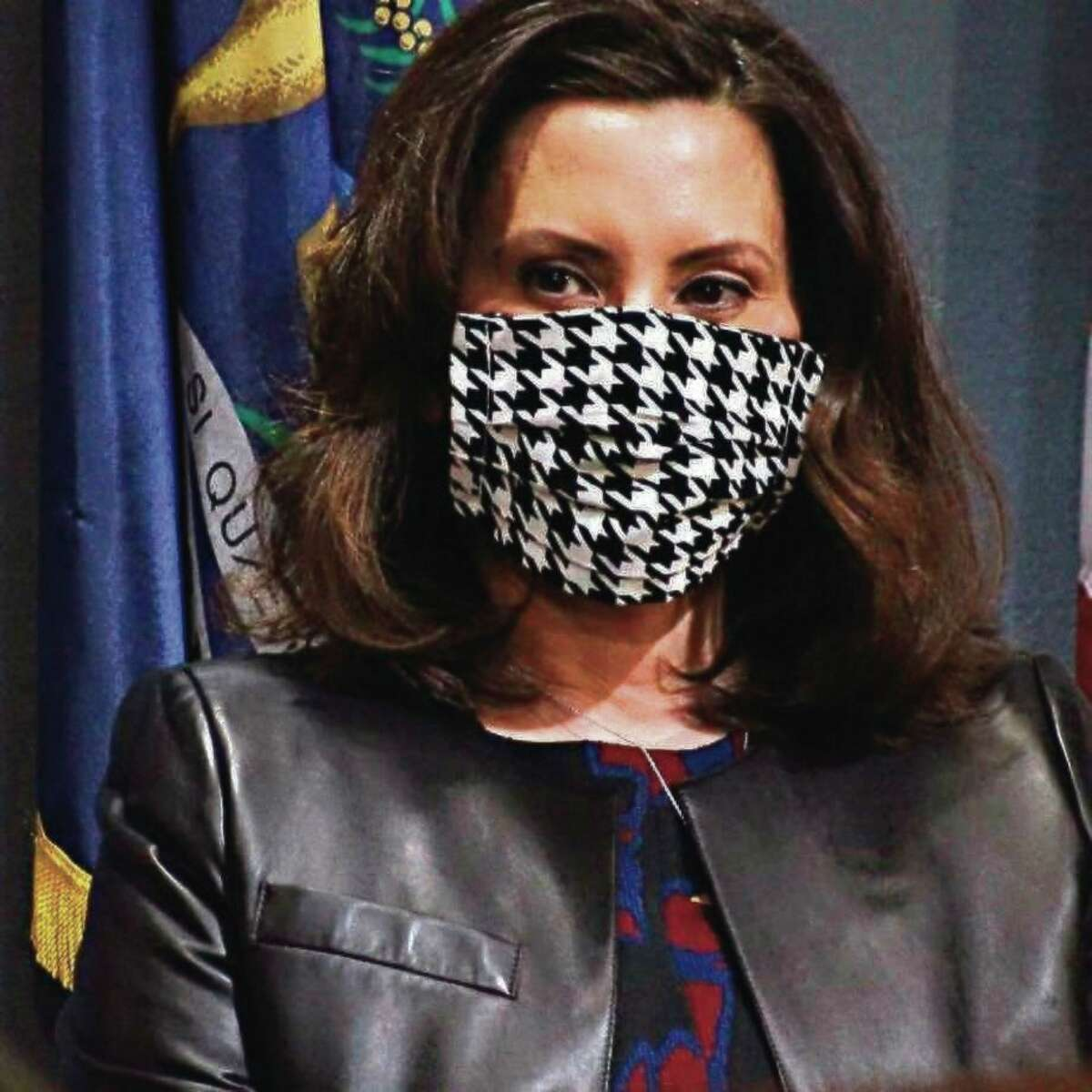 Gov. Gretchen Whitmer announced this week that 4 million free masks will become available to protect Michigan's residents from COVID-19. (AP Photo)
