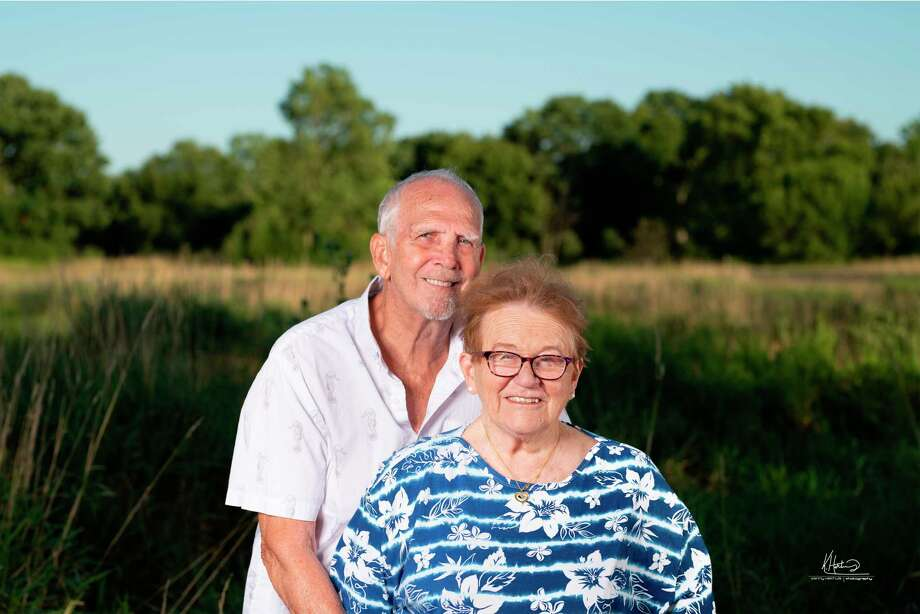 Jim and Donna Kiszelik, of Manistee, are celebrating their 55th wedding anniversary. (Courtesy photo)