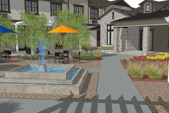 The Landing at Augusta Woods Senior Living is a new retirement and assisted living community located in a wooded setting in Spring.