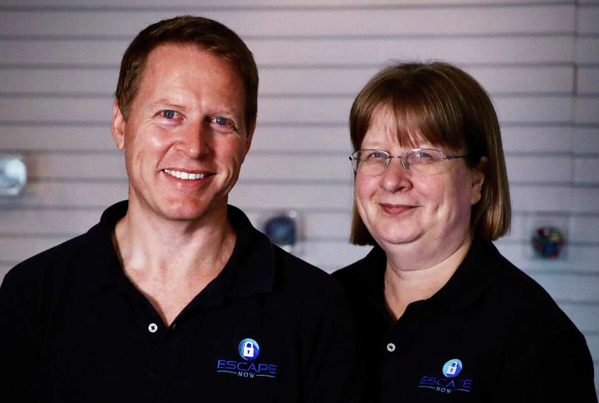 Sleuths Mike and Geraldine Roddie have turned their passion for escape rooms into a business. The couple has struggled through the pandemic but remains open for business.
