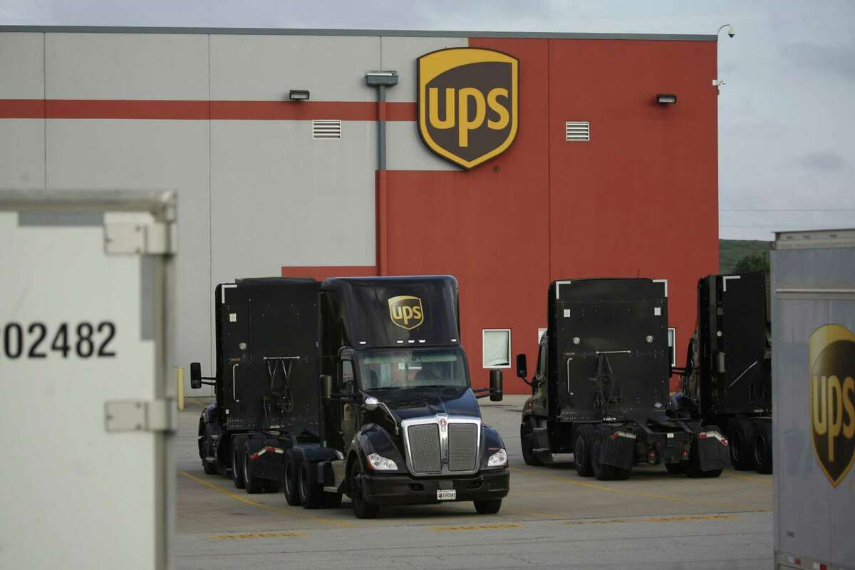 A United Parcel Service ground facility in Louisville, Ky., on July 28, 2020.