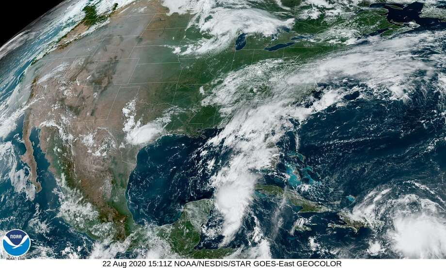 Tropical Storm Laura is expected to pose a stronger threat to Texas but the intensity of that possible storm is dependent on its track. Photo: National Weather Service