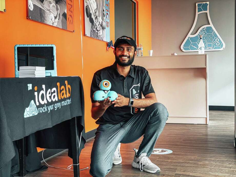 Entrepreneur Shivam Bhakta is using his passion to train young minds in the STEAM concepts at IDEA Lab Kids in Cypress. Photo: Submitted / © Shivam Bhakta