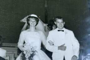 Don and Marsha at their wedding
