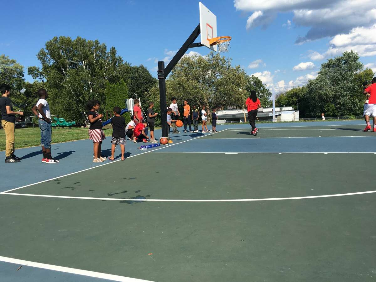 Young people enjoy safe outdoor activities during Youth Day in Krank Park, Albany on Aug. 22