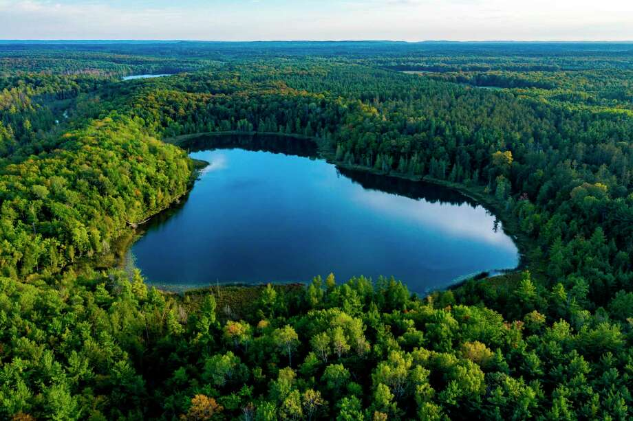 The Lower Woodcock Lake Preserve is230 acres onundeveloped property featuringa mix of northern hardwood forest, conifer swamp and pine plantation. (Courtesy Photo)