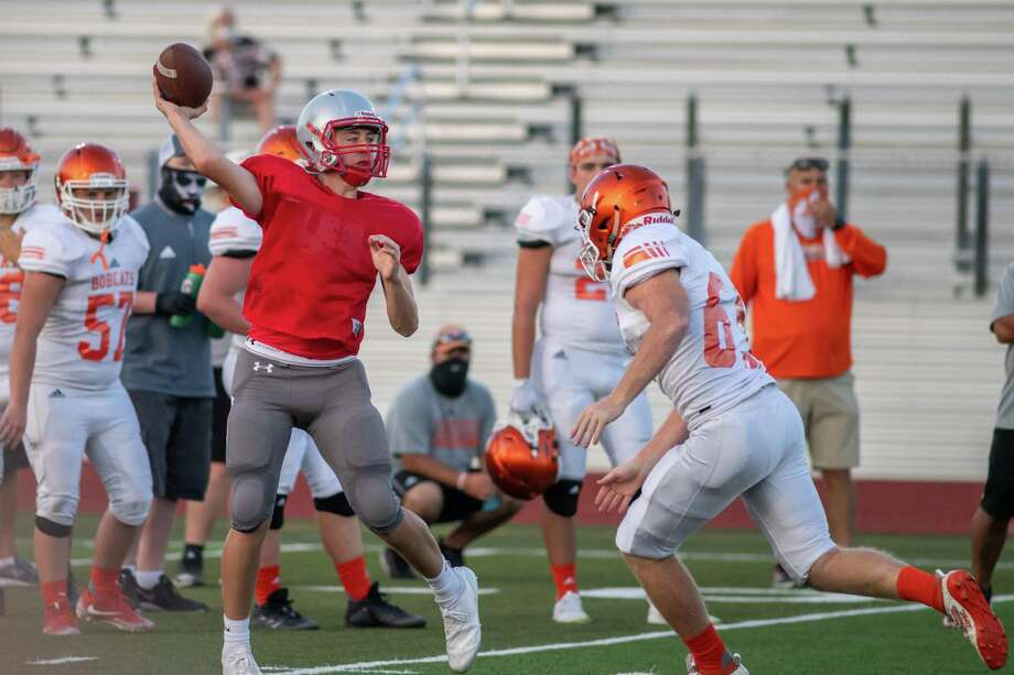 Orangefield traveled to Lumberton for a football scrimmage game as the start of the season gets closer. Photo made on August 20, 2020. Fran Ruchalski/The Enterprise Photo: Fran Ruchalski, The Enterprise / The Enterprise / © 2020 The Beaumont Enterprise