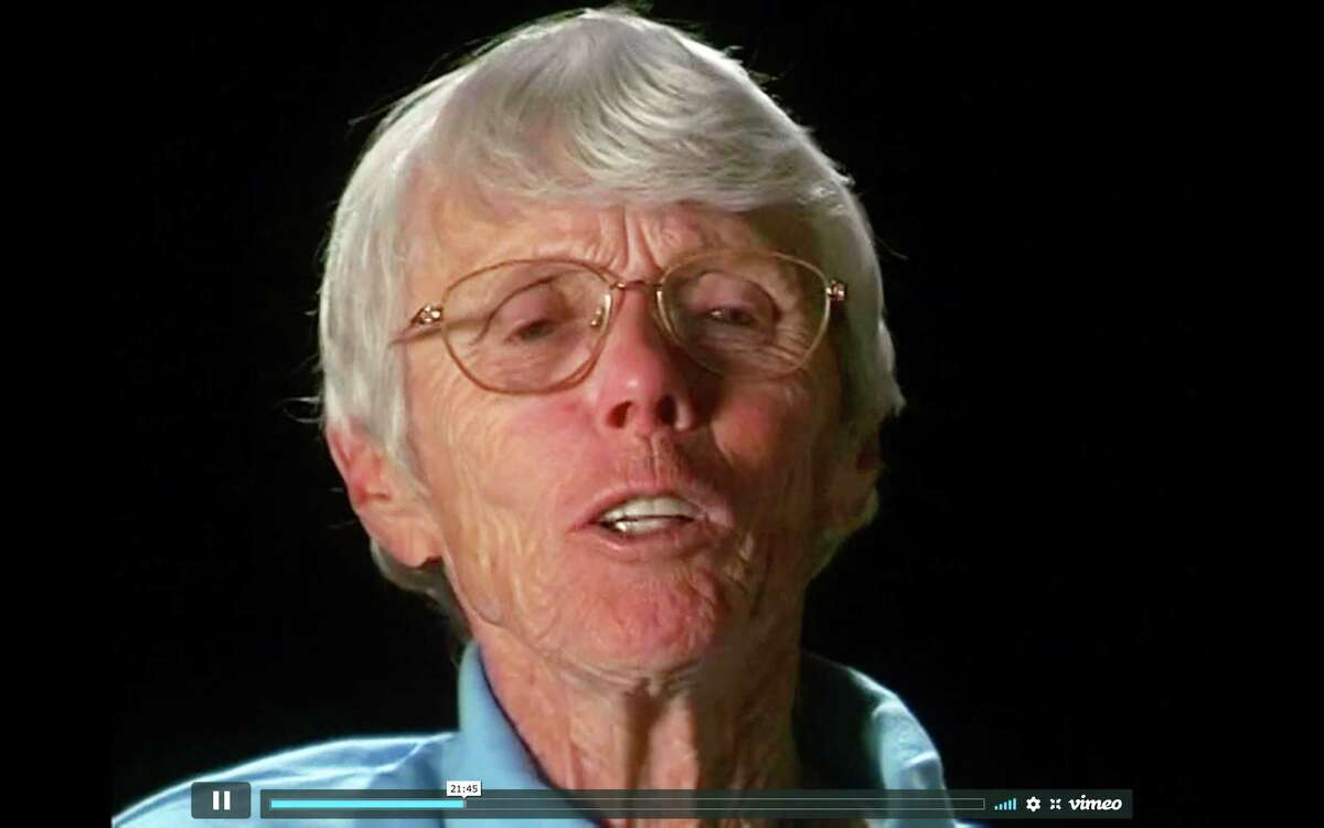 Pat Peterson of Albany in a screen shot from the documentary a€œRacing Against the Clock.a€ (Uncommon Productions)
