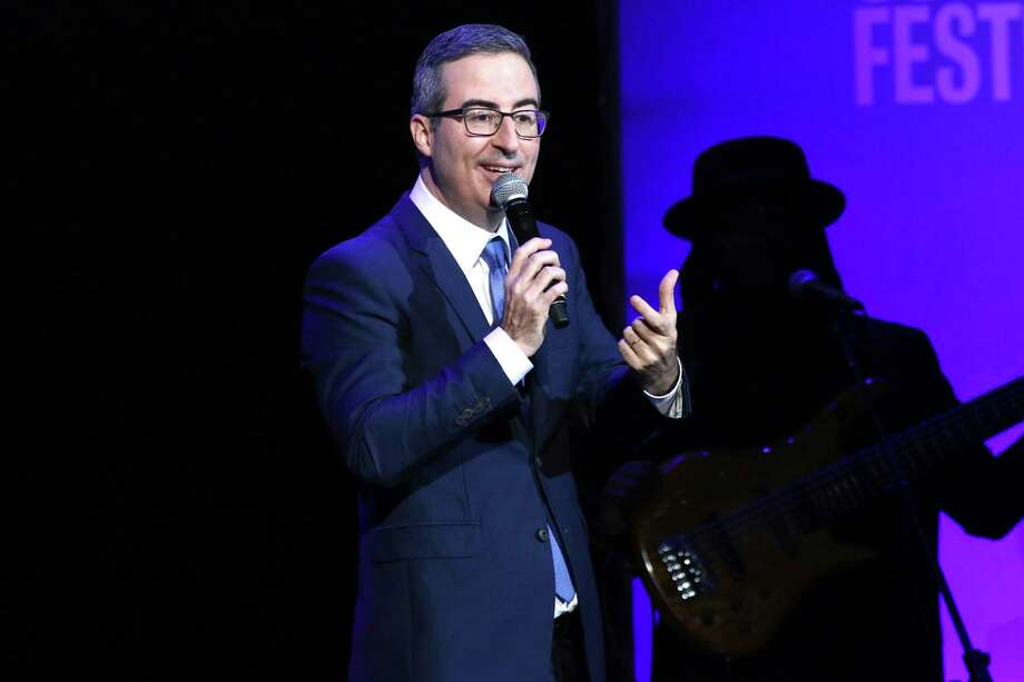 John Oliver has called on Danbury Mayor Mark Boughton to follow to rename a city sewage plant after the comedian in exchange for a charitable donation. Photo: Greg Allen / Associated Press / 2019 Invision