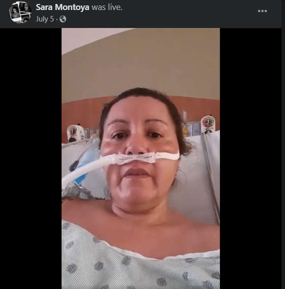 Forty-three-year-old El Paso mother Sara Montoya went live on Facebook July 5, urging people to take the virus seriously. Photo: Sara Montoya/Facebook