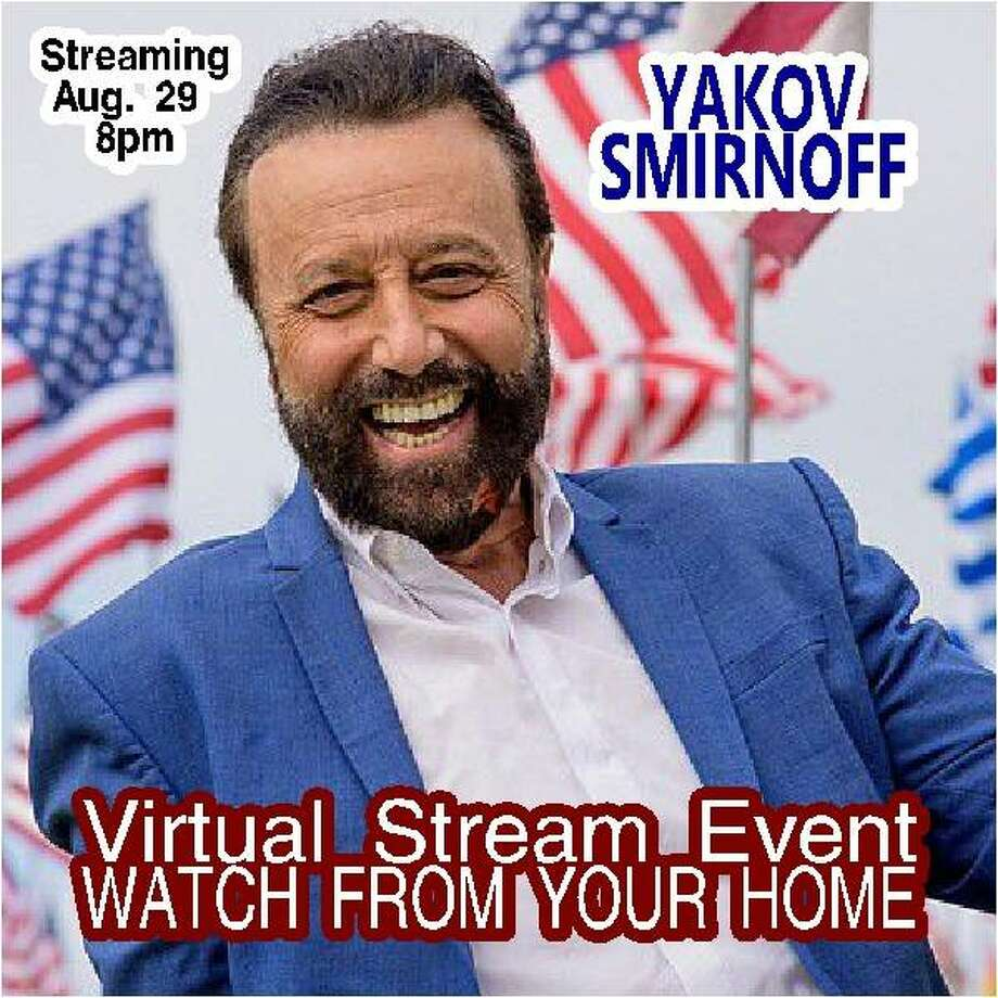 """The Wildey Theatre presents """"United We Laugh,"""" a live-stream comedy special by Yakov Smirnoff, on Saturday, Aug. 29. Photo: For The Intelligencer"""