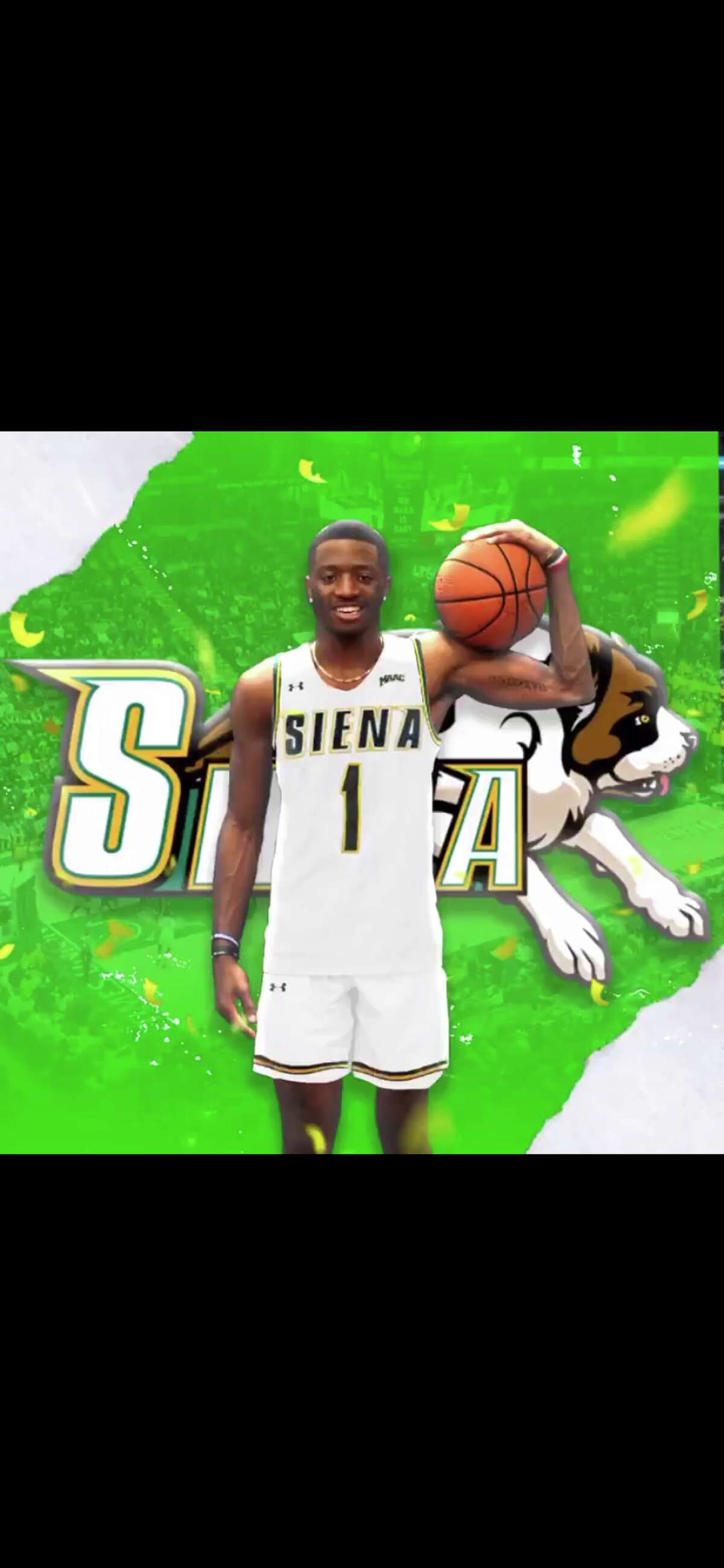 New Siena commit Jared Billups played at the same high school, McDonogh in Owings Mills, Md., as former Saints forward Evan Fisher. (Jared Billups' Twitter account)