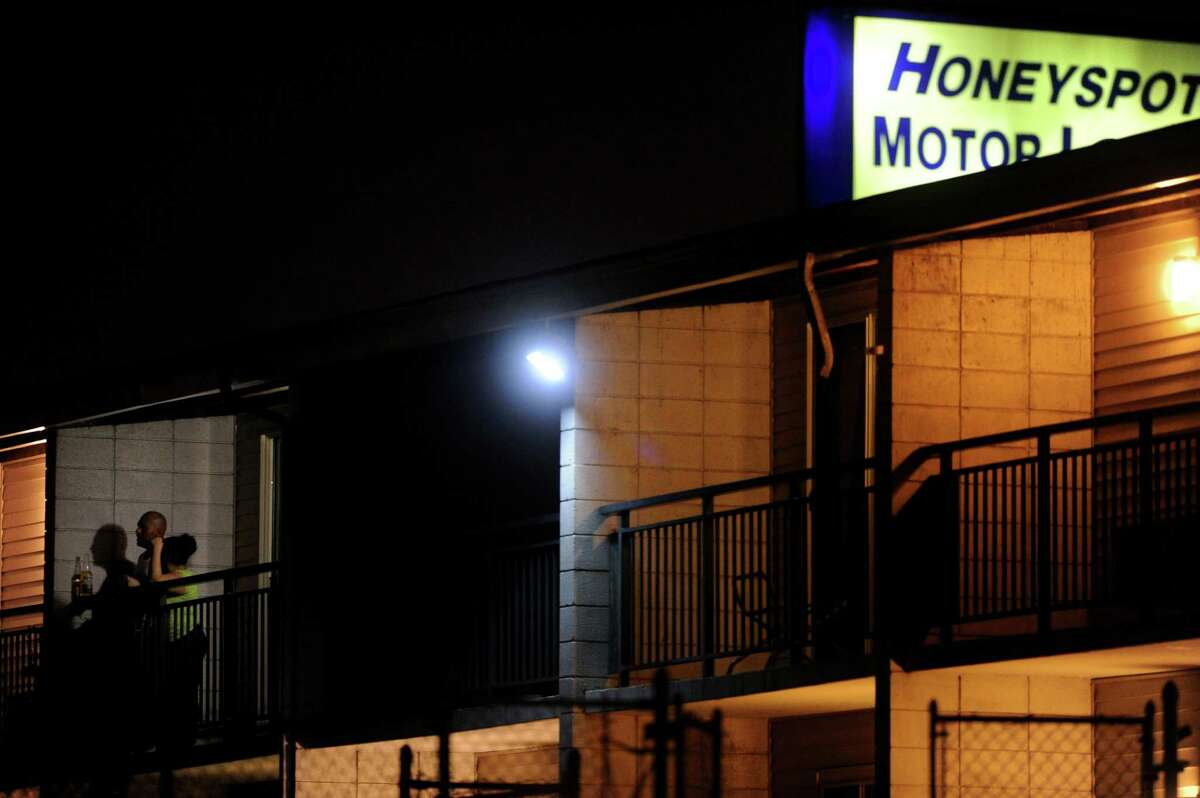 Police said a man was nearly murdered at the Honeyspot Motor Lodge on Friday night.