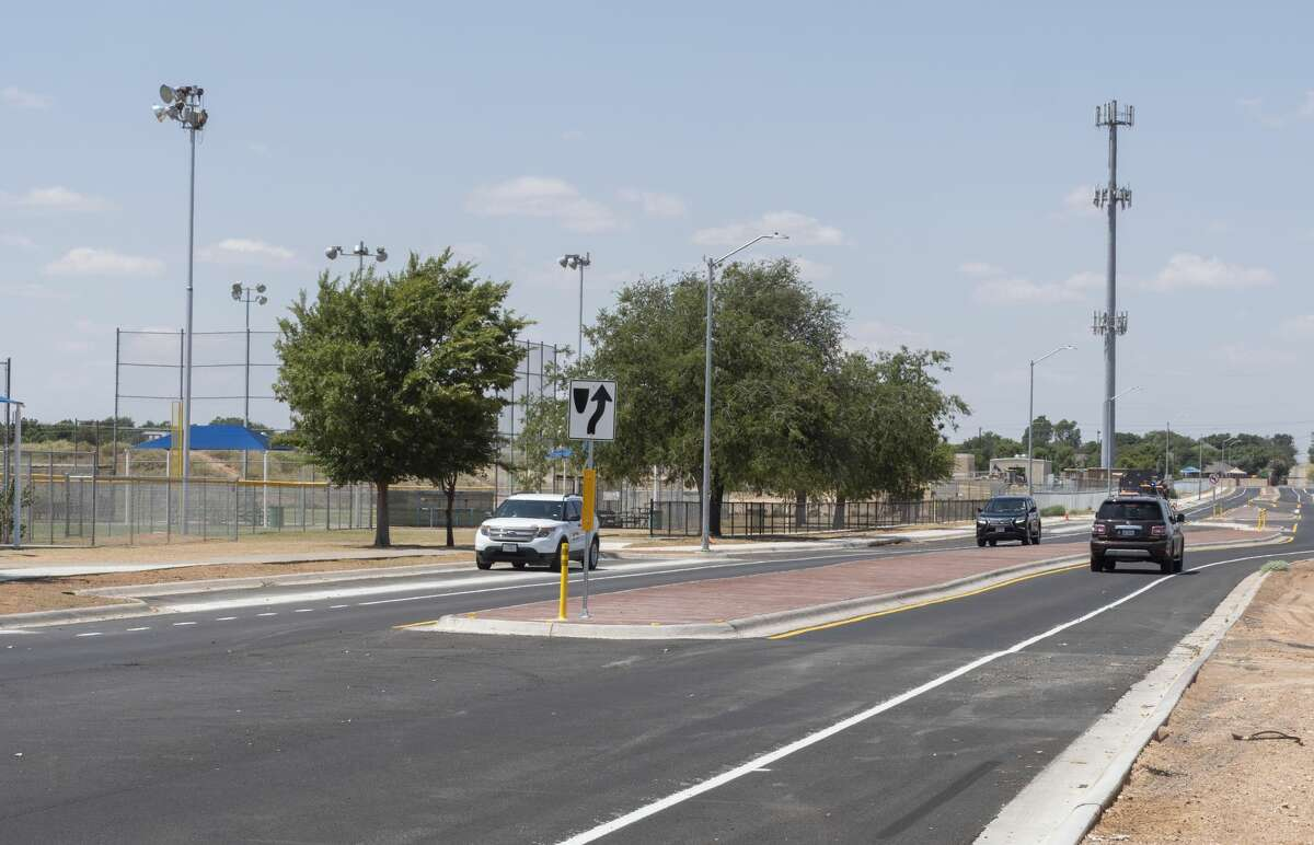 Cars can travel the length of Bluebird Lane 8/24/2020 with no worry of traffic cones as the City of Midland has completed the Road Bond work on the street. Tim Fischer/Reporter-Telegram