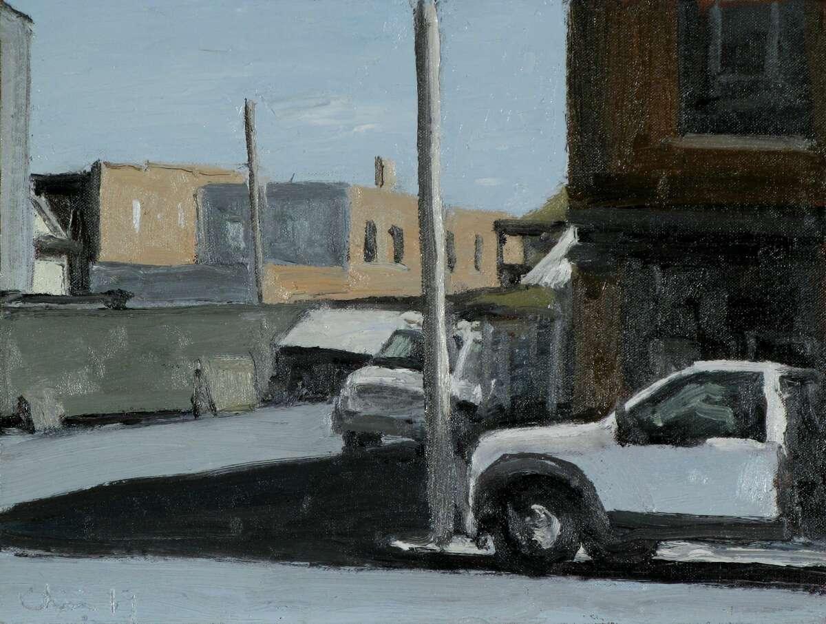 Matt Chinian's 2019 painting