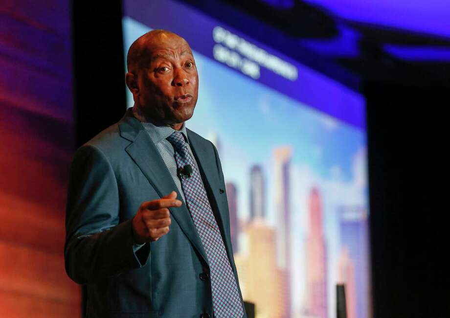 Houston Mayor Sylvester Turner has stressed that despite the promising trend, Houstonians should remain vigilant as another surge is very possible, especially with Labor Day weekend approaching. Photo: Steve Gonzales, Houston Chronicle / Staff Photographer / © 2019 Houston Chronicle