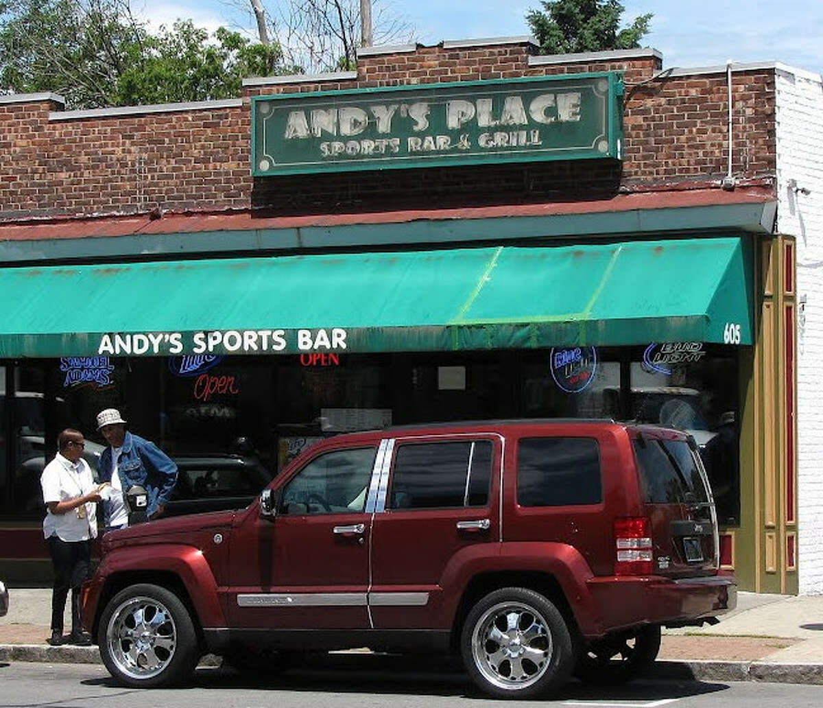 Andy's Place in Albany had its liquor license suspended by the state for allegedly violating restrictions on the sale of alcohol related to the effort to stem the coronavirus pandemic.