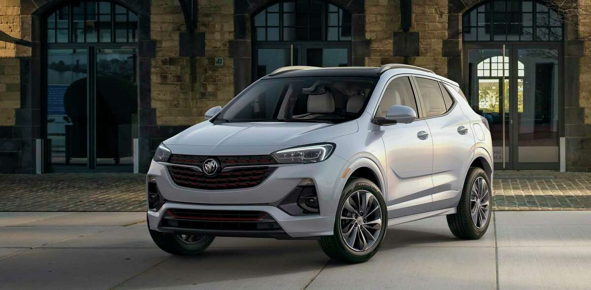 The Encore GX Essence with front-wheel drive had a base price of $28,500, rising to $33,465 with optional equipment. The base GX Preferred starts at $24,100.