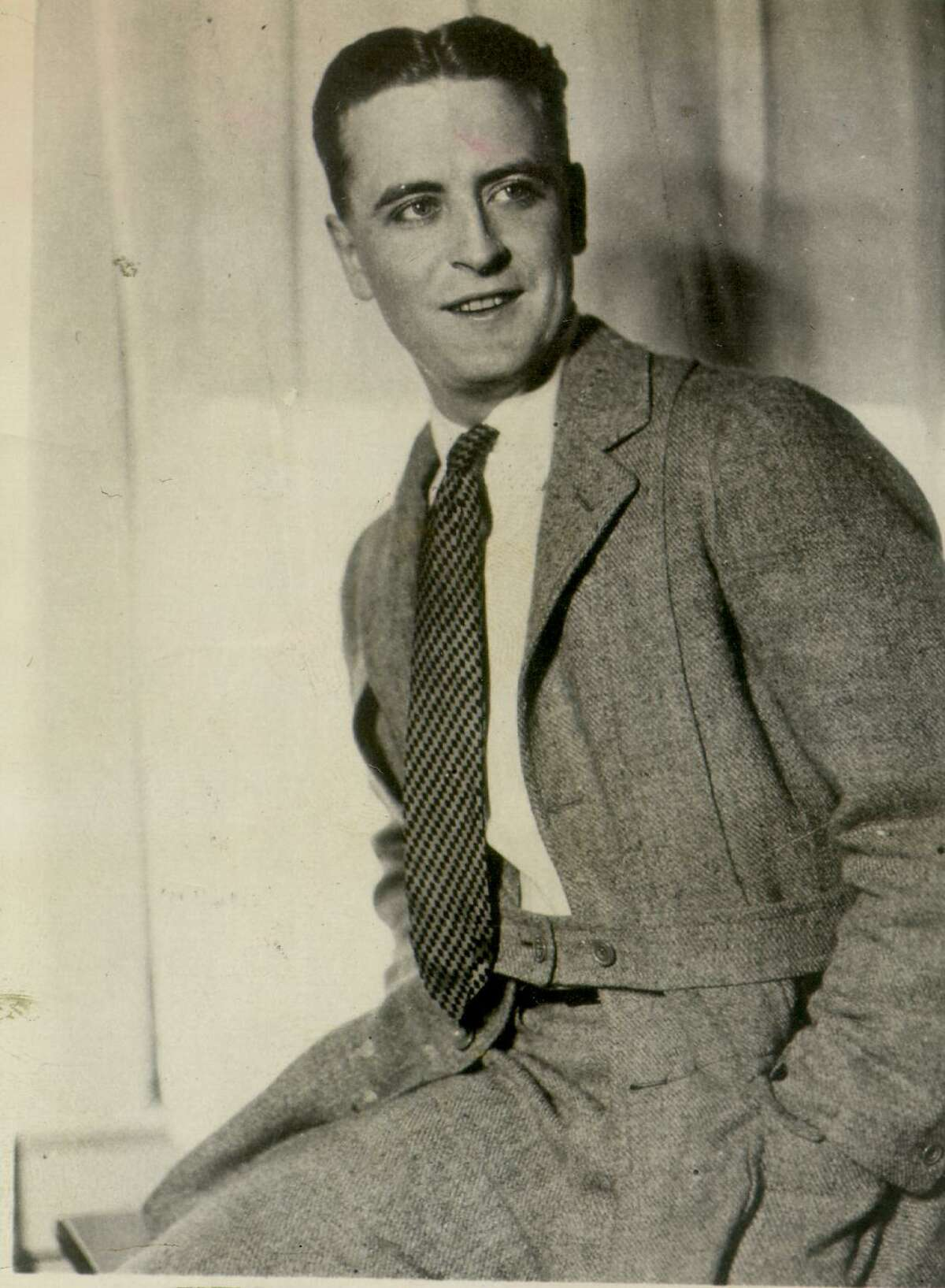 Writer F. Scott Fitzgerald is shown in this undated file photo. Fitzgerald was born in St. Paul, Minnesota, on Sept. 24, 1896.
