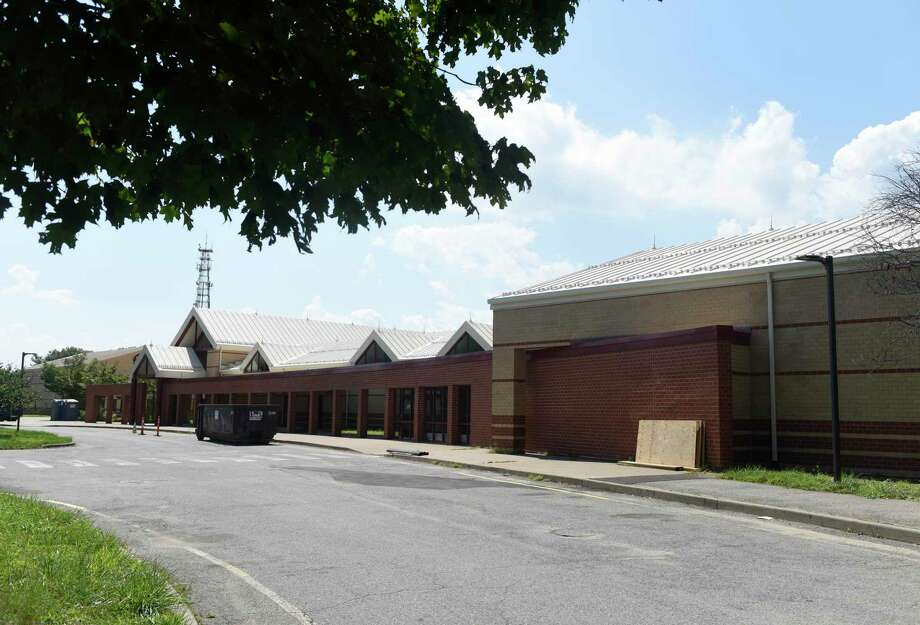 Construction continues at Westover Elementary School in Stamford, Conn. Monday, Aug. 24, 2020. The magnet elementary school, which had been closed for the last two years for mold remediation, will reopen this year. The school had been housed inside an office building in the South End for the last two years. Photo: Tyler Sizemore / Hearst Connecticut Media / Greenwich Time