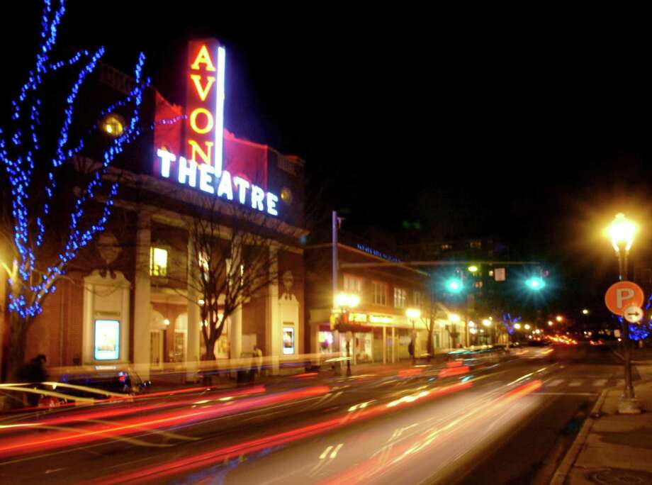 The Avon Theatre in Stamford. Photo: Hearst Connecticut Media / 00008838A