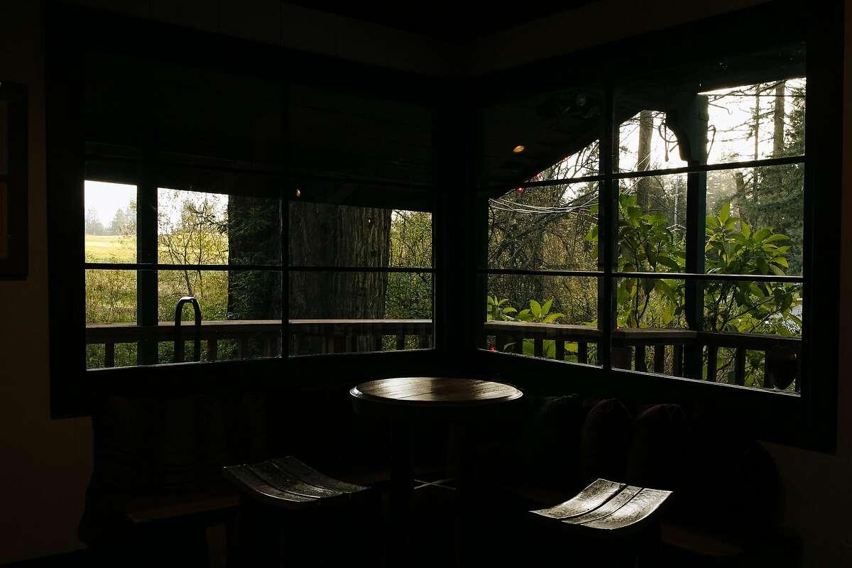 Beauregard Vineyards tasting room photographed in Bonny Doon, Calif. Friday, December 1, 2017.