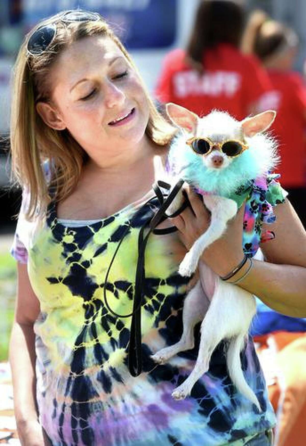 Woofstock on the Branford Green has been turned into a virtual event this year. Above is a photo from last year's event. The shelter, along with IHeartRadio's Renee DiNino, are hosting a virtual fundraiser to raise $20,000 in 20 days.