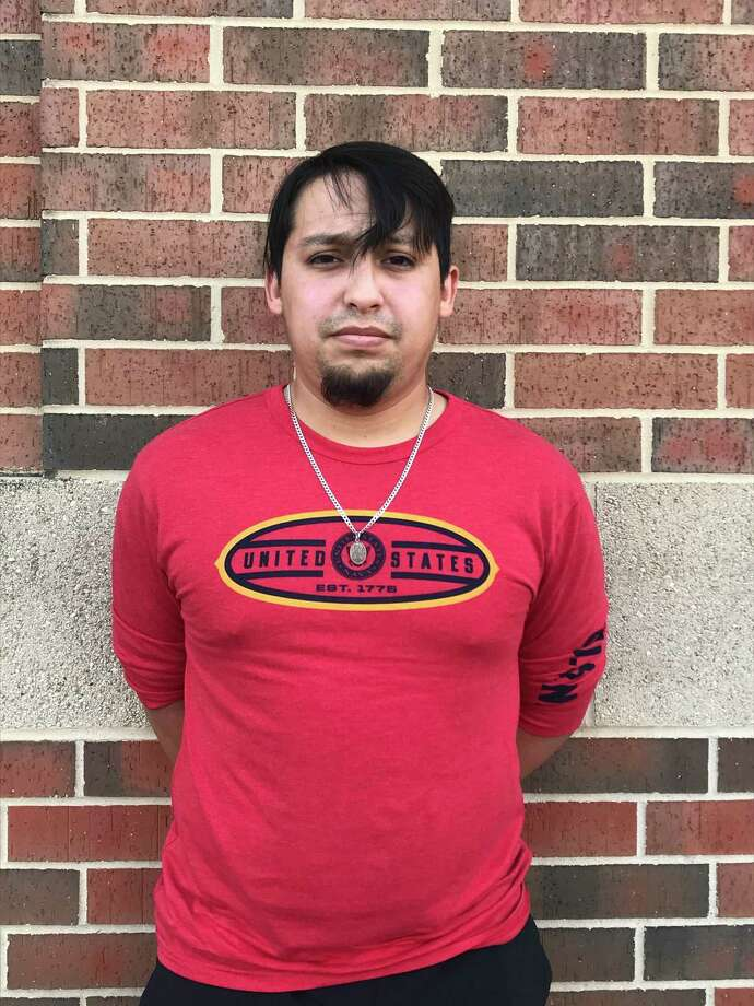 Salvador Herrera, 26, was arrested Monday, Aug. 24, 2020, and charged with online solicitation of a minor with intent to have sex as well as possession and promotion of lewd visual material. Photo: Courtesy /Bexar County Sheriff's Office