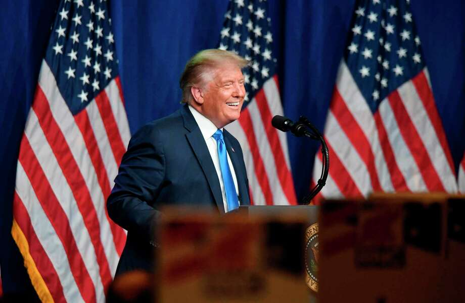 Trump Photo: DAVID T. FOSTER III /POOL /AFP Via Getty Images / AFP or licensors