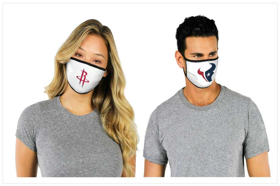 Houston sports team masks available at JCPenney Sports Fan Shop. Photo: JCPenney