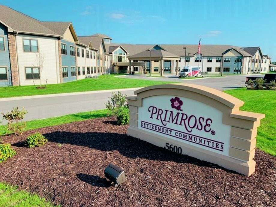 The entrance sign to Primrose Retirement Community of Midland, located at 5600 Waldo Ave. (Photo provided