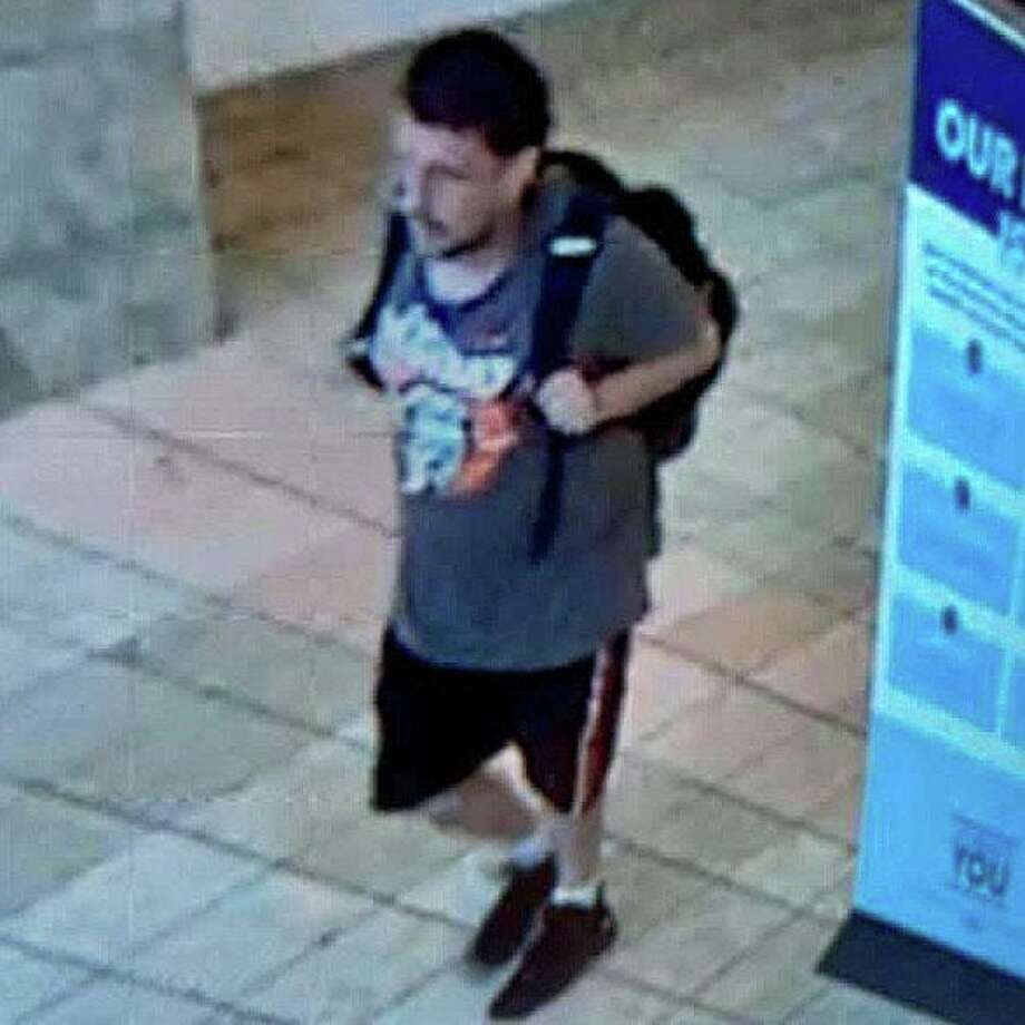 Milford police are asking for the public's help to identify a man, who detectives say, shoplifted a leather jacket from a Connecticut Post mall store on Sunday, Aug. 23, 2020. Photo: Milford Police Photo