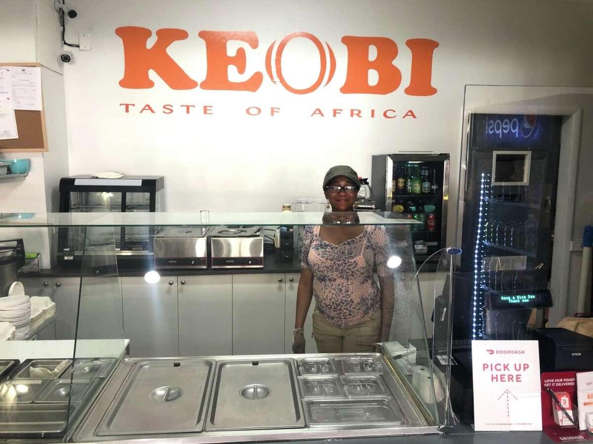 Chef-owner Kelechi Nwagboso opened the Nigerian restaurant Keobi on Lark Street in Albany in 2020.